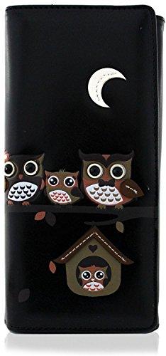 happy owl family tree house