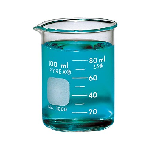 PYREX Griffin Low Form 100mL Beaker Graduated Ea