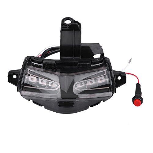 SANON Motorcycle LED Tail Brake Light Multi Color Turn Signal Blinking Light for Yamaha NVX155 125 AEROX155