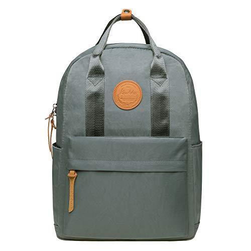 KAUKKO Stilvoller, legerer Rucksack für Studenten, Reiserucksack, leichte Tasche, 07-grau (Grau) - KS07-Grey