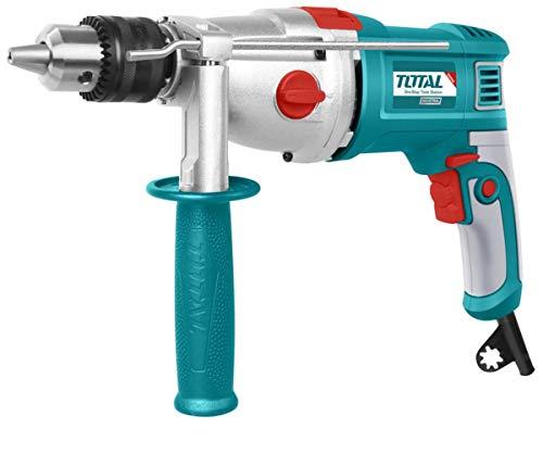 Taladro percutor Total Tools 1050W (MAX 16MM - 2 VELOCIDADES - CARCASA REFORZADA)
