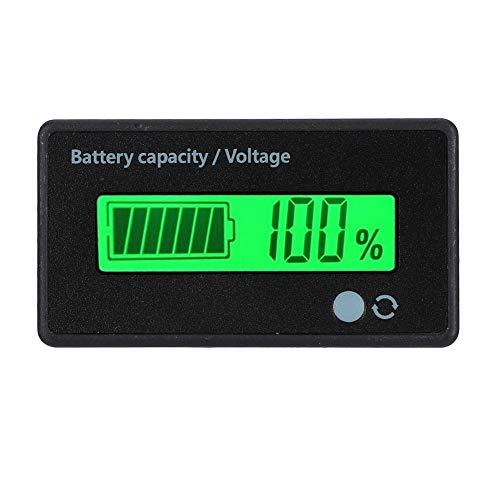 Review Sorand Double Buttons Battery Capacity Monitor, GY-6D LCD Battery Display, Accurately 12-84V ...