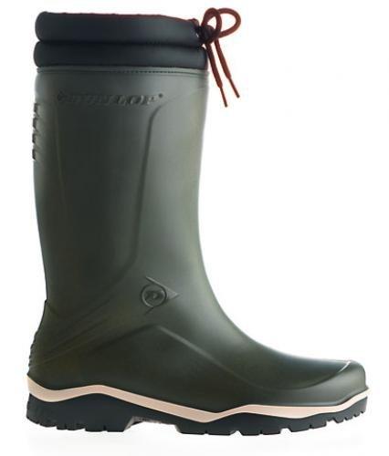 Dunlop Thermo rubberlaarzen winterlaarzen Blizzard Unisex Kleur: Groen/Zwart (46)