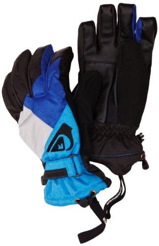 Quiksilver Meteor Gloves Gants de Ski pour Homme m Bleu Bleu Large
