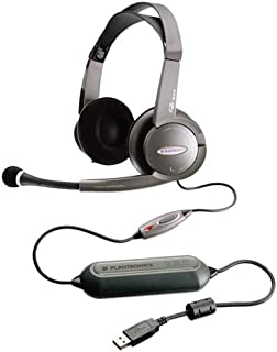 Plantronics DSP-500 Digitally-Enhanced USB Gaming/Multimedia Stereo Headset and Software