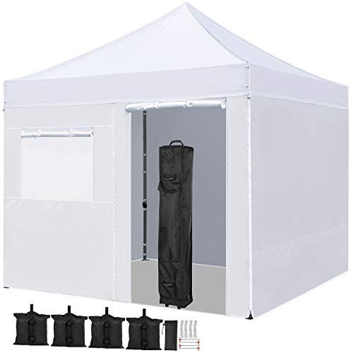 YAHEETECH 10x10 Pop Up Canopy Tent Folding Wedding...