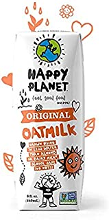 Happy Planet Oat Milk Original 8 oz Pack of 15