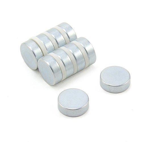 pack de 4 Magnet Expert/® 20mm diam/ètre x 2mm N35 n/éodyme aimant 2,3kg force dadh/érence