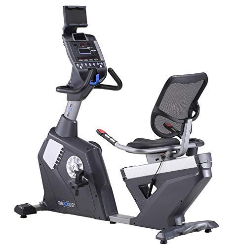 MAXXUS Liegeergometer Bike 90R Pro Halb-Liegeergometer, Heimtrainer in Studio Qualität für das Cardio-Training zuhause