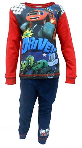 Jungen Offiziell lizenzierte Blaze und das Monster Machines Lange Pyjamas Alter 18-24 Monate
