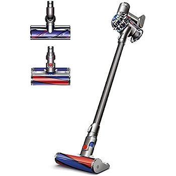Dyson V6 Fluffy Pro Cord-Free Stick Vacuum, Iron (Renewed)
