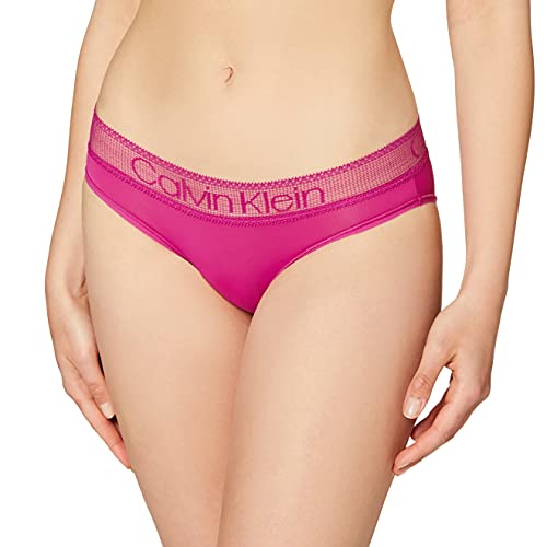 Calvin Klein Bikini Lingerie, Magenta Luminosa, XS Unisex-Adulto