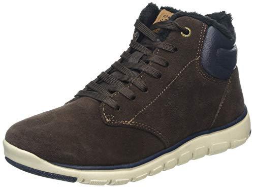 Geox Jungen J Xunday Boy H Chukka Boots, Braun (Brown/Navy C0947), 39 EU