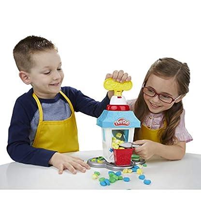 Play-Doh Popcornmaschine mit 6 Dosen Play-Doh Knete, ab 3 Jahren 8