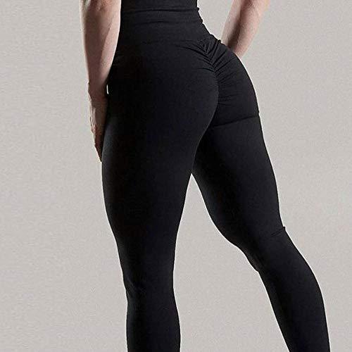 Lengte Hoge Taille Fitness Yoga Sportbroek,Hoge Taille Push-up Grote maten Gym Yoga Broek,Sexy Kleding Leggins Sport Dames-black_XL,Superzachte Modal Yoga/Pilates-broek