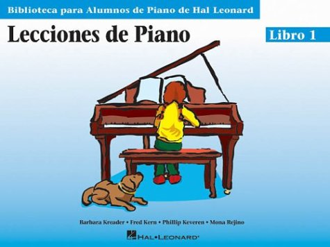 Piano lessons book 1 - spanish...