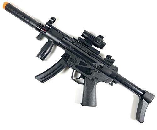 A&N Battery Operated Combat Electric MP5 Toy Gun with Light Sound and Vibration