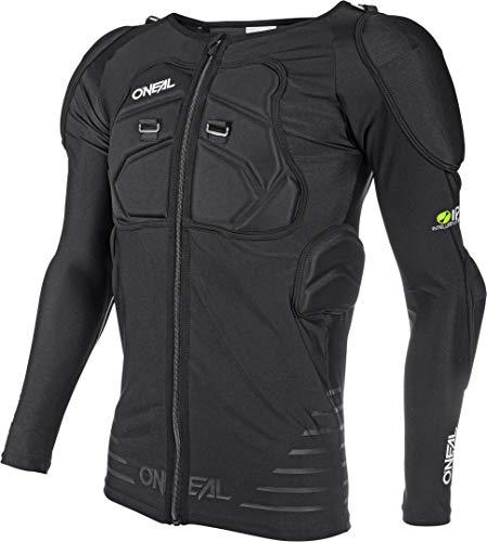 O'NEAL | Protektoren-Jacke | Motocross Enduro Motorrad | Elastisch leichte Protektorenjacke, aus Polyurethan-Schaum, Mesh-Einsatz | STV Long Sleeve Protector Shirt | Erwachsene | Schwarz | Größe M
