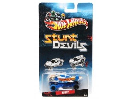 Hot Wheels Voiture Buggy - Stunt Devils - vehicule cascadeurs