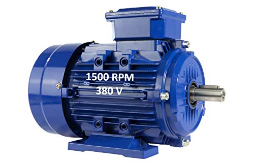 MOTOR ELECTRICO TRIFASICO 1,1KW / 1,5CV 220 / 380V 1500RPM B3 (PATAS) TAMAÑO 90S - EJE 24mm ALREN