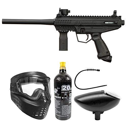 Maddog Tippmann Stormer Basic Bronze Paintball Gun Marker Starter Package - Black