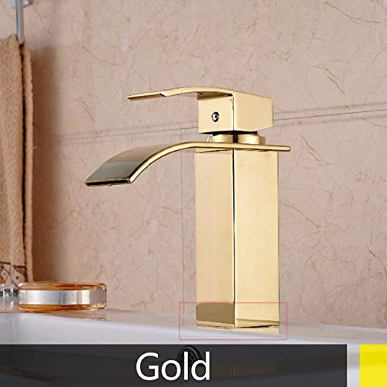 U-Enjoy Chandelier Basin Sink Hot Faucet and Top Quality Cold Hot Mixer Tap Deck Single Hole Torneira Mounted Short Style Free Shipping [gold-1]
