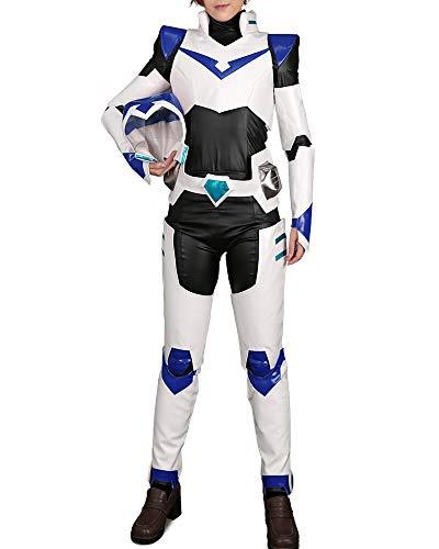 Cosplay.fm Men's Paladin Armor Costume Shiro Keith Lance, Blue, Size Medium
