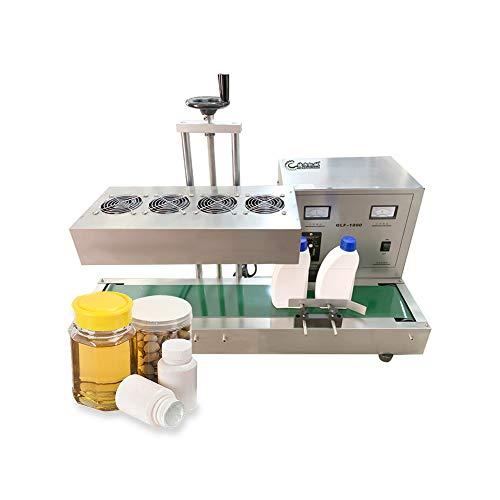 Máquina automática de Sellado de Papel de Aluminio por inducción electromagnética 15-130mm Máquina de Sellado automático Vertical Industrial Selladora térmica para Botellas de plasticos y vidrios