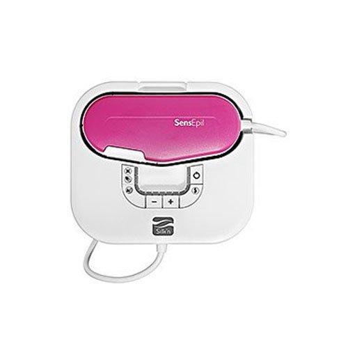 Silk'n SensEpil-Epilation Féminine à la Lumière Pulsée Résultats Permanent Technologie Brevetée 750 Flash Rose