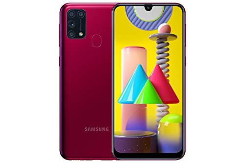 Samsung Galaxy M31 Mobile Phone; Sim Free Smartphone - Red (UK version)...