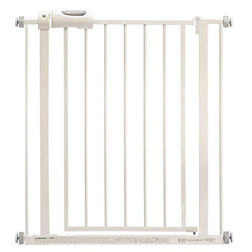 ADEIEGE Puerta de Escalera de Cierre automático, Puerta de Barrera de Seguridad, separadores de habitación, Puerta de Seguridad para Perro, Mascota, bebé (tamaño: Ancho 58-62 cm)
