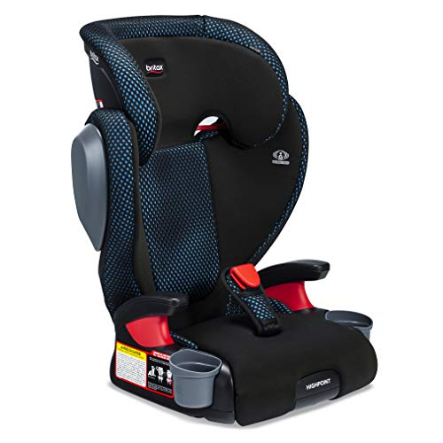 Britax Highpoint Belt-Positioning Booster Seat, Cool Flow Teal...