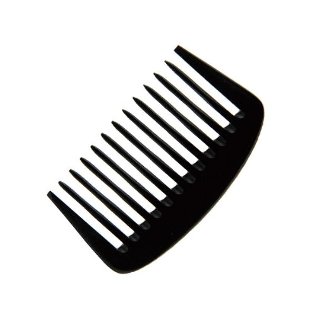 純正サンダースホットエトゥベラ e-ーフムーンコーム K-8010 105mm (美容室用) 全2色ブラック
