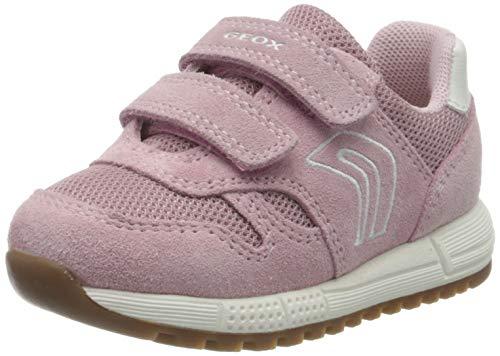Geox B ALBEN Girl A, Zapatillas Bebé-Niñas, Rosa (Rose C8011), 22 EU