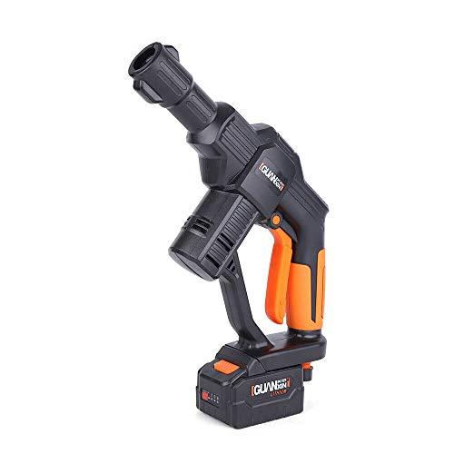 Akku Hochdruckreiniger Kabellos tragbar Hochdruckpistole mit 5M Schlauch 20V DHL