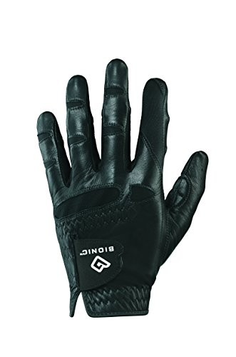 Bionic GGNBMLXL Luvas de golfe masculinas StableGrip com ajuste natural, mão esquerda, GG