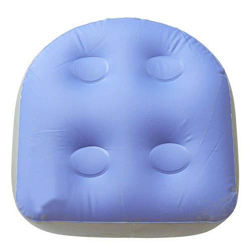 Adoture Aufblasbares Sitzkissen für Erwachsene und Kinder für Spa-Kissen Massagematte Weicher aufblasbarer Sitzerhöhung