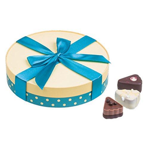 Sweet Cake Midi - 9 pralines in taartvorm | Belgische chocolade | Beste kwaliteit | Geschenkidee | Cadeau | Verjaardag | Bedankje |Huwelijksgeschenk | Moederdag | Vaderdag | Volwassenen