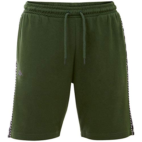 Kappa ITALO Men Klassische Shorts, Greener Pastures, Normal