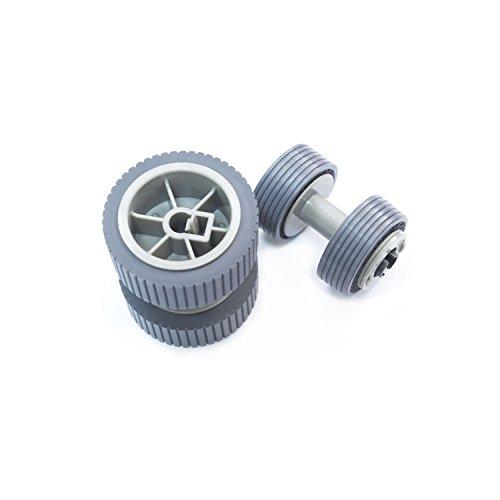 SLON PA03540-0001 PA03540-0002 - Rodillo de Freno para escáner Fujitsu fi 6130 6225 6130Z 6230 6140 6240 6120 Fi-6130 Fi-6225 Fi-6130Z Fi-6230 Fi-6140 Fi-6240 Fi-6120