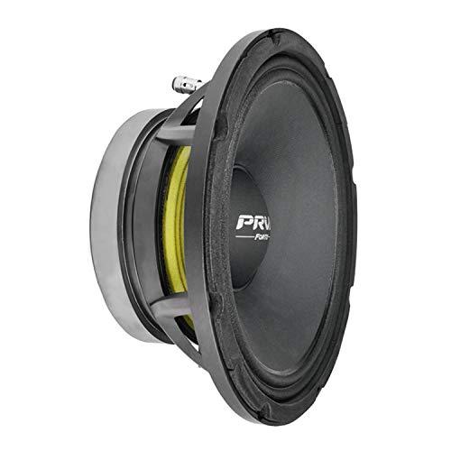 PRV AUDIO 10 inch Midbass Speaker 10MB800FT, 800 Watts Program Power, 8 Ohm, 2.5 in Voice Coil, 400 Watts RMS Pro Audio Mid Bass Loudspeaker (Single)
