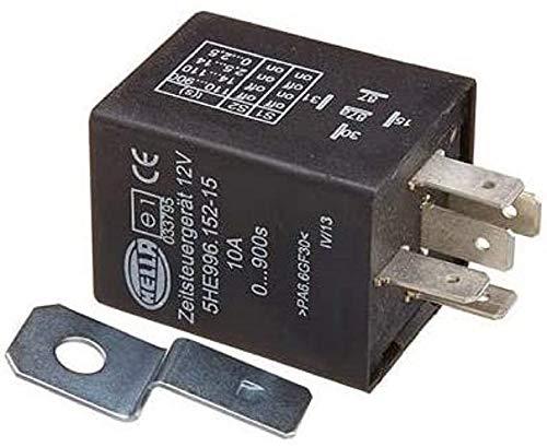 HELLA 5HE 996 152-151 Minuterie - 12V - Nombre de connexions: 5 - Relais inverseurs