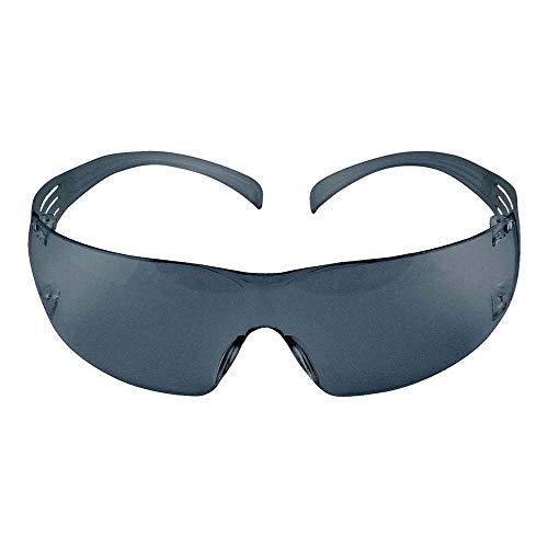 3M SFIT1AF Schutzbrille Secure Fit 200, AS, AF, UV, PC, Rahmen grau, 1 Stück, grau
