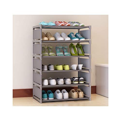 HYAN Zapatero Organizador de Almacenamiento de Zapatos de Tela de Tela no Tejida Liviana de Zapatos Independientes para la Entrada, Pasillo y Armario Caja de Zapatos