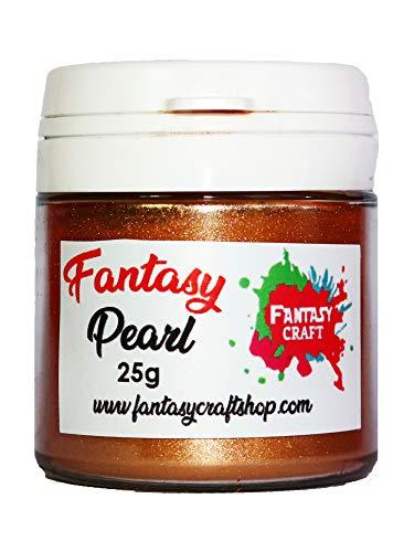 Fantasy Craft 25 Gr Cooper Pearl, Pigmento de Mica Alta Intensidad de...
