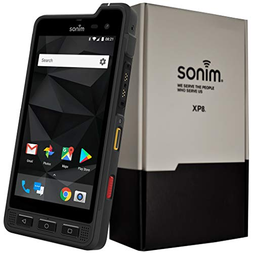 Sonim XP8 XP8800 Dual-SIM 64GB IP68/IP69 (GSM Only, No CDMA) Factory Unlocked 4G/LTE Rugged...