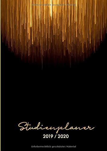 Studienplaner 2019/2020: CampusLogbuch 2019/20, Semesterplaner, Terminkalender, Notizbuch, Organisationstool, Lebenshilfen / A5 / Terminplaner Studium ... Oktober 2019 - September 2020, Band 1)