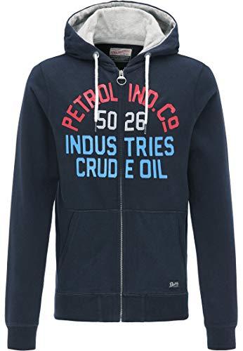 Petrol Industries MEN Sweatjacke Herren M-3090-SWH357 Deep Navy, M