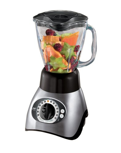 Oster 6854 14-Speed Blender, Brushed Nickel