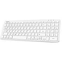 Omoton Ultra Slim Bluetooth iPad Keyboard with Numeric Keypad